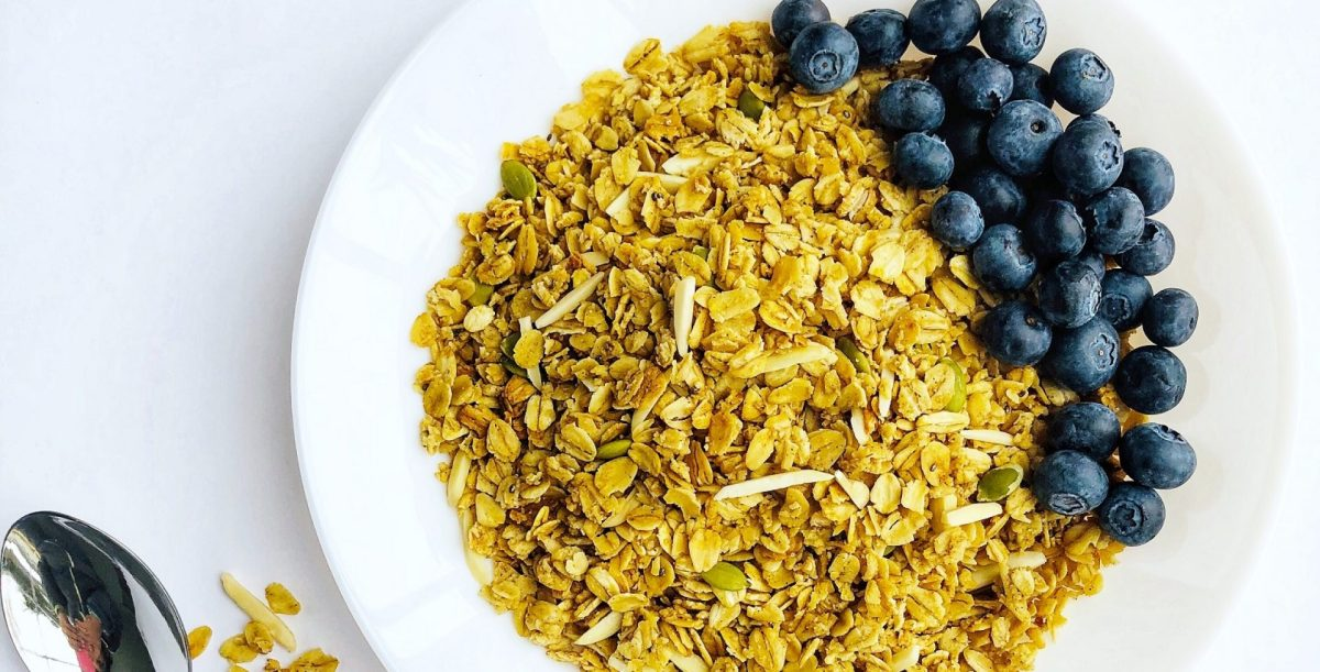 Super Healthy Almond Vanilla Granola