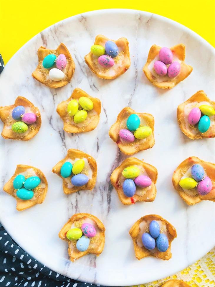 Nest Egg Cookies for Easter