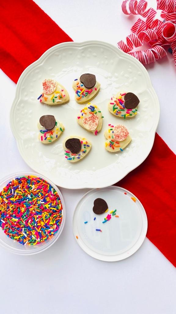 Linzer Cookies Valentines Day cookies Heart Cookies Love Cookies