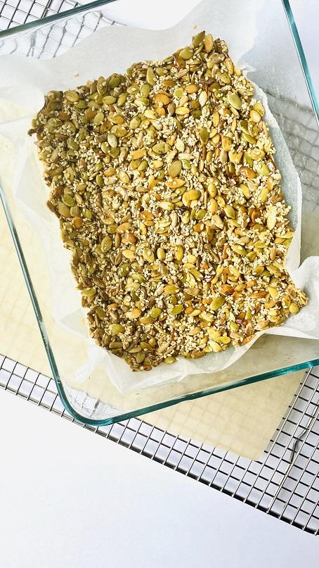 No Bake - Homemade Granola Bar www.smithasbakelove.com
