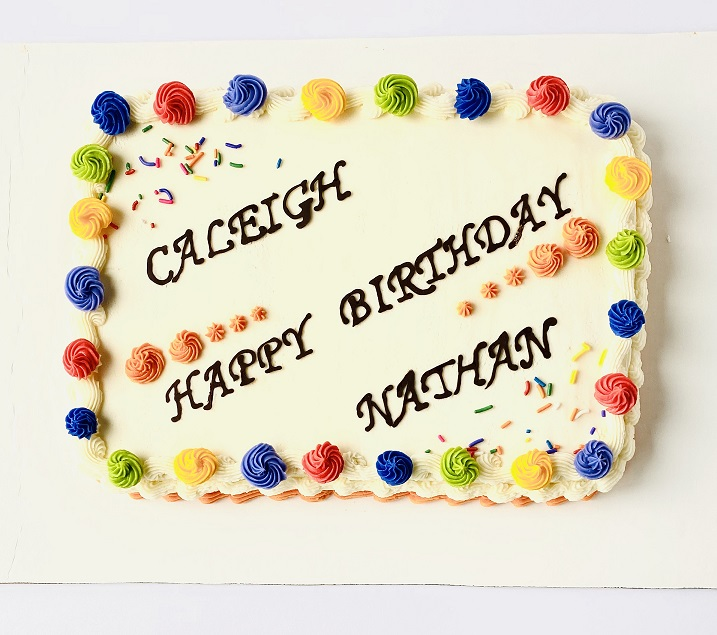 Cool Colorful Birthday Sheet Cake Smithas Bake Love Funny Birthday Cards Online Elaedamsfinfo