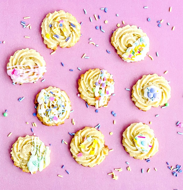Rosette Cookies Mothers day gifts