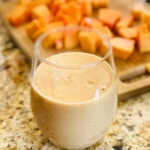 Papaya Banana Almond Smoothie