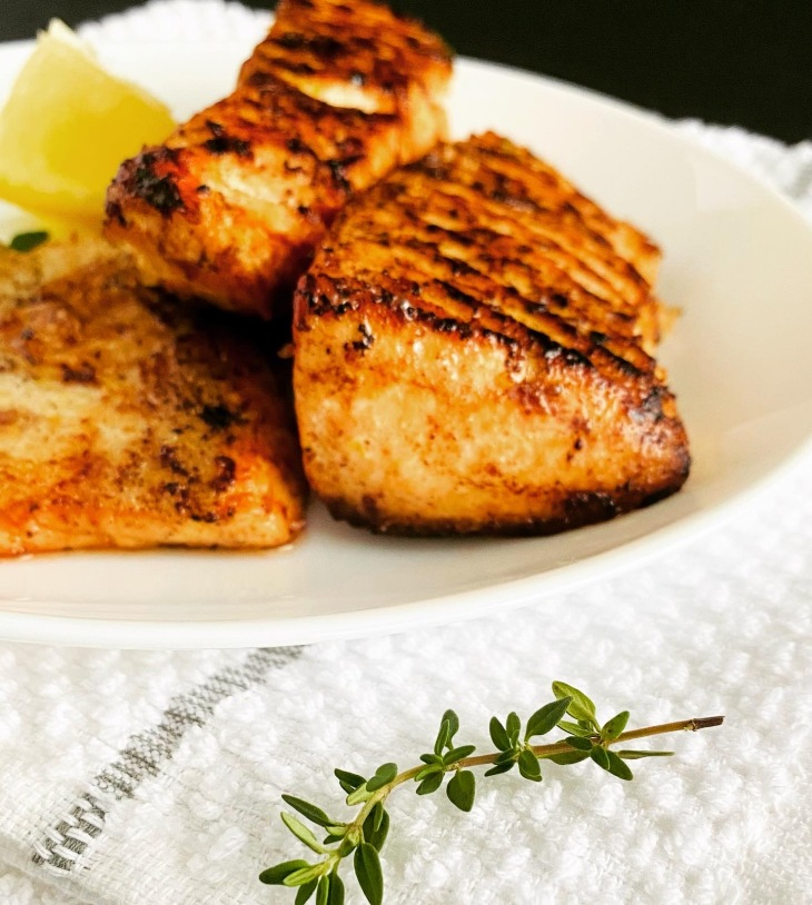 Salmon with Lemon Butter