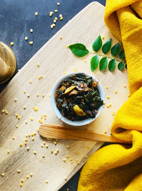 Moringa Leaves Fry
